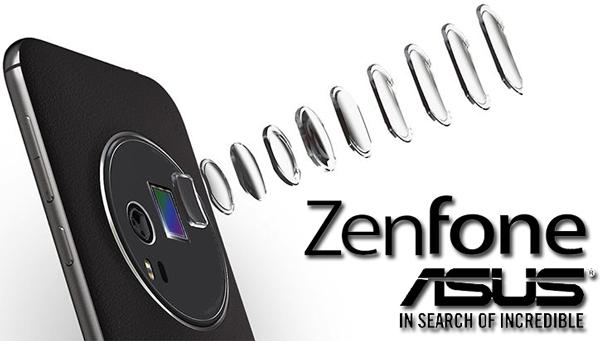 Smartphone Asus Zenfone Zoom cu camera cu zoom optic inclusa