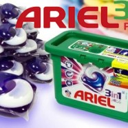 Pareri si impresii despre detergentul gel-lichid capsulat ARIEL PODS 3in1