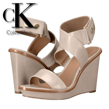 Calvin Klein Pernina Platforme din piele