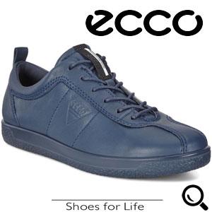 Pantofi casual dama ECCO Soft 1 (Albastri True Navy)