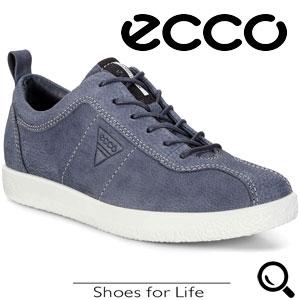 Pantofi casual dama ECCO Soft 1 (Albastri)