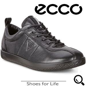 Pantofi casual dama ECCO Soft 1 (Negri)