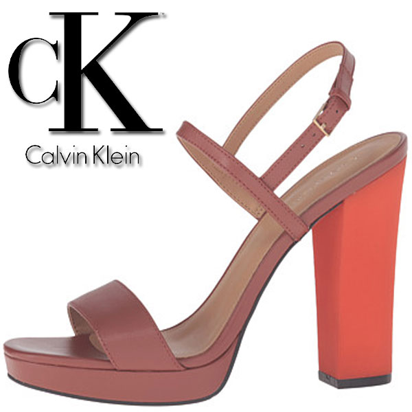 Pantofi cu toc Calvin Klein Bambii