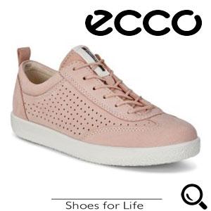 Pantofi retro roz dama ECCO Soft 1