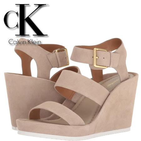 Platforme Calvin Klein Hailey Cocoon Suede