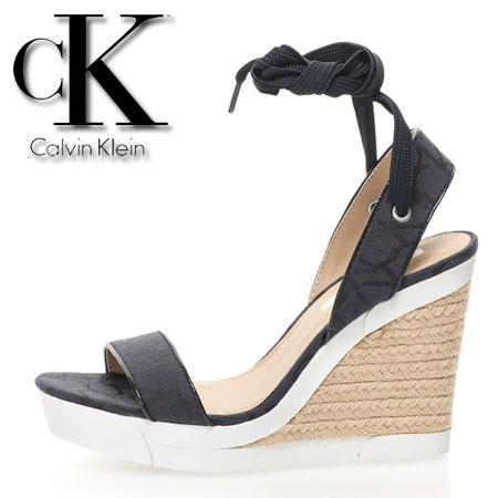 Platforme Calvin Klein bleumarin inchis Eleanor