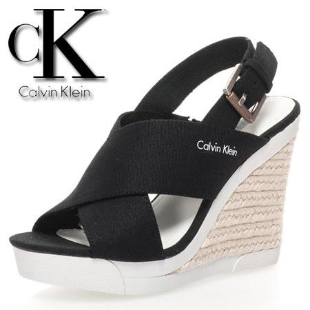 Platforme negre de panza Elaine Calvin Klein Jeans