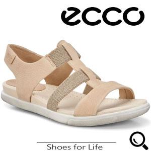 Sandale casual dama ECCO Damara (Bej Powder)