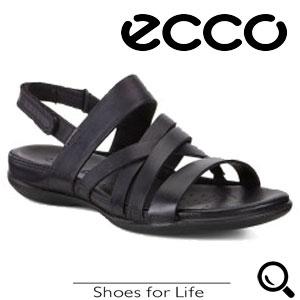 Sandale casual dama ECCO Flash Negre