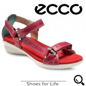 Sandale din piele ECOO HILL Mov