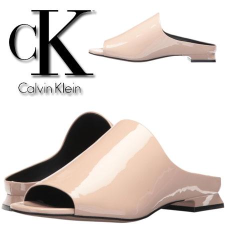 Sandale somon Calvin Klein Mabel Femei
