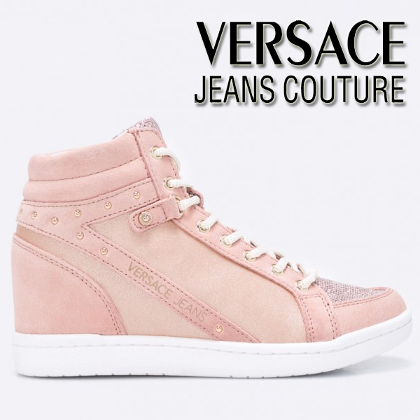 Bascheti Fashion roz Versace Jeans de dama