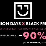 Informatii Black Friday Fashion Days