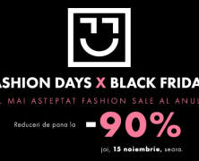 Informatii Black Friday Fashion Days