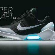 Adidasii High Tech Nike HyperAdapt cu sireturi care se leaga singure