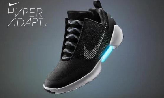 Adidasi Nike HyperAdapt cu sireturi care se leaga singure