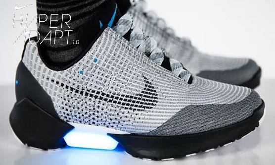 Nike HyperAdapt - sireturi care se leaga singure